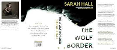 Cover of The Wolf Border, by Sarah Hall.