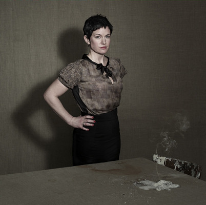 Sarah Hall, photo credit: &copy Nadav Kander. UK publicity use only. Do not crop or render in black and white.